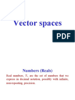 Vector Spaces Lect