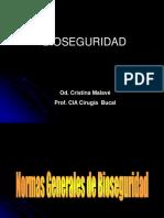 Bioseguridad y Asepsia