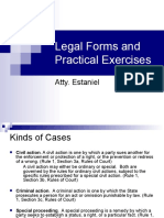 Legal Forms and Practical Exercises by Prof. Estaniel