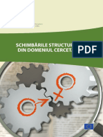 Schimbarile Structurale Din Domeniul Cercetarii