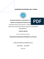 ANTECEDENTES 04 Tesis Maestría Implementación de Certificados y Firmas Digitales Para Sistemas de Información Transaccionales en Una Empresa Gubernamental