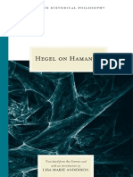 [Topics in Historical Philosophy] Georg W. F. Hegel, Lisa Marie Anderson (Ed.) - Hegel on Hamann (2008,