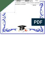 Diplomas Graduacion 1