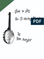 Seeger Banjo 2 Ed