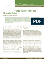 Federal Funds Market Since the Financial Crisis