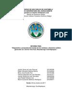 Caracterización de desechos de la colonia Vista Azul Mazatenango, Suchitepéquez