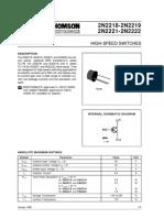 2n2222 Datasheet Pdf