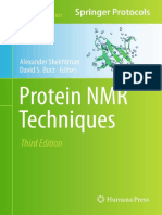 Alexander Shekhtman, David S. Burz-Protein NMR Techniques (Methods in Molecular Biology, V831) -Springer (2011)