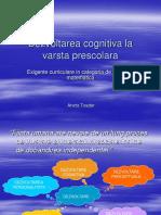 Dezvoltarea Cognitiva a Prescolarului