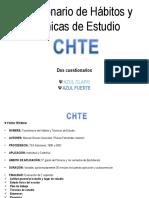 Cuestionario de Hábitos y Técnicas de Estudio CHTE