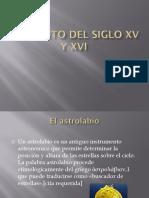 Adelanto Del Siglo XV y XVI