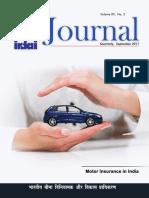 IRDAI Journal September 2017