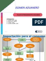 Diapositivas de Los Regimenes Aduaneros Sabado