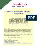 Coaching Literario - Gen Narr 4 - Pero También de Tierra Garrido