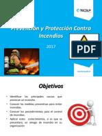 Prevención y Protección Contra Incendios - Centro