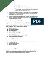 PLAN 7...El Desarrollo y El Subdesarrollo Económicos...