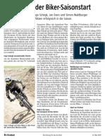 Botschaft 12. Mai 2018 - VC Leibstadt - Anprechender Biker-Saisonstart