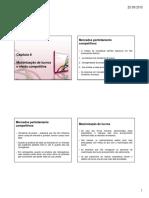 PPTs - Capítulo 8 Maximização de Lucros e Oferta Competitiva