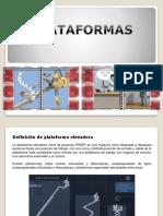 Presentación plataformas