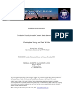 Neely &Weller - . Technical analysis and central bank intervention.pdf