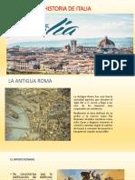 Historia de Italia - Johana García Pinedo