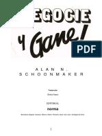 Schoonmaker Alan N - Negocie Y Gane