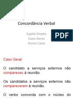 Concordância Verbal CE 3.ppt