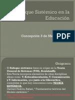 Enfoque Sistémico en La Educación