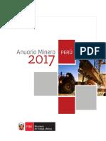 ANUARIO MINERO 2017 - Perú