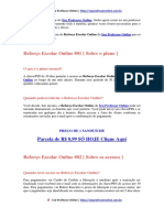 Aulas Online de Química Reforço Escolar Online