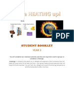 student booklet- year 3