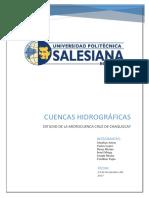 Cuencas Hidrografias