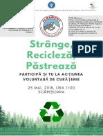 Afis Ecologizare - Campanie 1