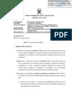 Resolucion Nuevas Elecciones Sindicato Andahuasi