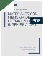 Materiales con memoria de forma en la ingeniería civil
