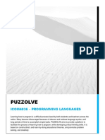 Puzzolve Report