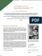 Odisea2008 Iluminacion de Manuscritos Medievales Tecnicas