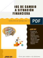 Estados de Cambio en La Situación Financiera