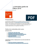 Manual Office 2016