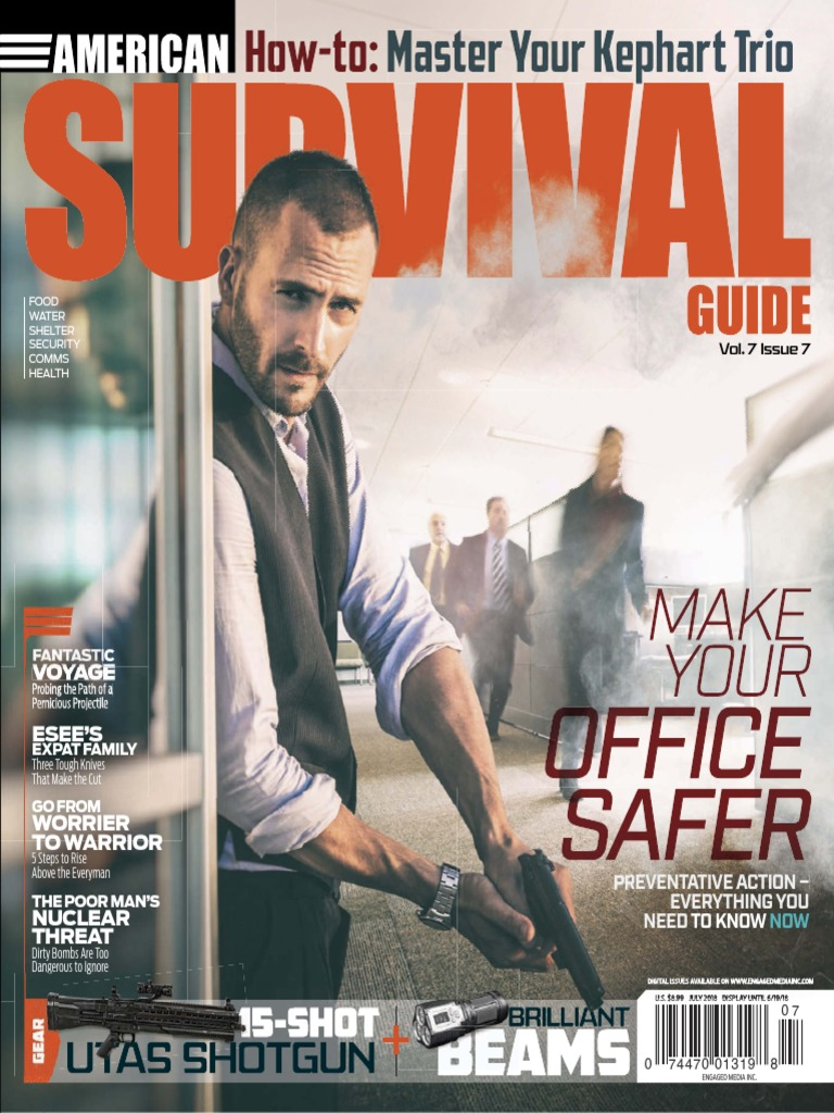 American Survival Guide - July 2018 | Weapons Of Mass Destruction