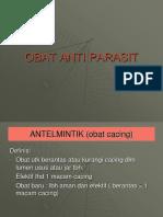 Obat Anti Parasit