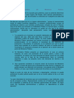 Naturaleza Jurídica Del Ministerio Público