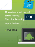 Machine Learning Checklist