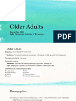 pt mgmt of older adults