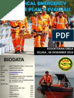Materi Medical Emergency Response Plan (Kedok. Unila 2015)
