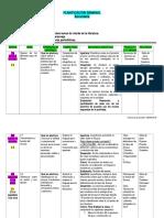 Plan semana diecinueve Español II y III