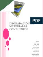 Degradación de Materiales Compuestos