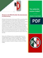Historia Del PRI
