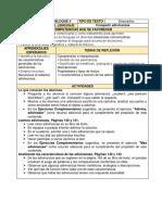 planeacion didactica 3ro