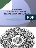 2. Islamisasi Ilmu Pengetahuan